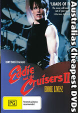 Eddie and the Cruisers II  DVD NEW, FREE POSTAGE WITHIN AUST REG 4