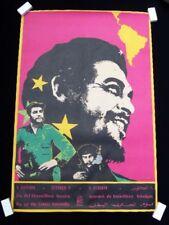 1980 TWO OSPAAAL POSTERS RAFAEL ENRIQUEZ ART OCTOBER 8 DEL GUERRILLERO HEROICO