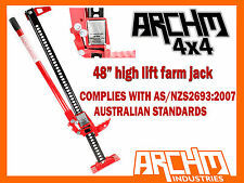 """48"""" ARCHM4X4 OFFROAD HIGH LIFT FARM JACK SUITS OFFROAD / 4WD / 4X4"""