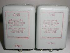2 X TRW / UTC  A-16  Audio Transformer