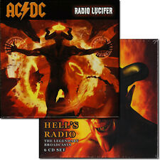 AC/DC Hell's Radio & Rd. Lucifer 2x 6-CD Legendary Broadcasts 1st Issue Box Sets