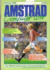 AMSTRAD computer (Acu) Magazine-Febbraio 1988-ECCELLENTE