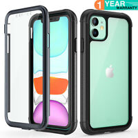 For Apple iPhone 11 Pro Max Case Life Shockproof Waterproof w/ Screen Protector