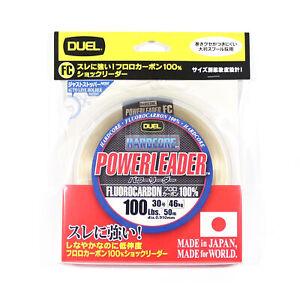 Yo Zuri Duel Hardcore Power Leader Fluorocarbon 100lb 50m H3347 (1233)