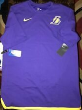 Nike Los Angeles Lakers Purple Essential Uniform DNA Shirt Men's XXLarge