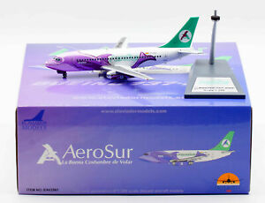1:200 INF200 Aerosur B737-200 CP-2561 (BUFEO) with stand