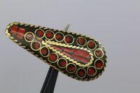 Außergewöhnlich schöner Zierknopf mit Einlagen - wohl ab 2010