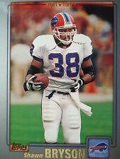 NFL 253 Shawn Bryson Buffalo Bills Topps 2001