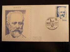 MONACO PREMIER JOUR FDC YVERT 1746   TCHAIKOVSKY     5F    MONACO  1990