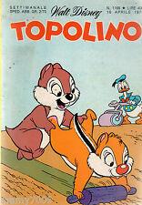 FUMETTO=TOPOLINO=N°1168 1978=ARTICOLO 4 PAGINE + FOTO SU FRANCA NUTI E G.DETTORI