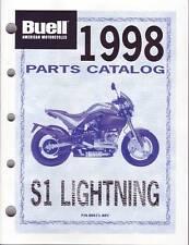 BUELL Teile Buch 1998 Lightning S1 OEM 99571-98YA NEU Teilekatalog Teilebuch OVP