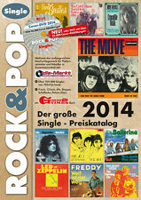 Rock & Pop Single Preiskatalog 2014 neu ovp kein Porto + DVD mit 25.000 Coverabb