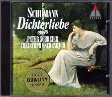 Peter SCHREIER, Christoph ESCHENBACH: SCHUMANN Dichterliebe Liederkreis Op.24 CD