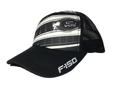 NEW FORD F150 TRUCKER HAT CAP WITH EMBROIDERED F150 ON BILL OF CAP & MESH BACK!