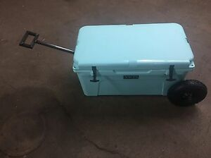 """Wheel Tire Axle Kit YETI Cooler 65  """"THE HANDLE"""" Accessory Included-NO COOLER"""