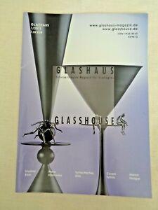 Glasshouse Glass Magazine 2011 Vladimir Klein Marta Klonowska Cesare Toffolo Art