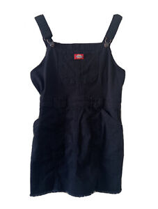 """Dickies Bull Black Overall Dress Size Small 24""""(61cm)"""