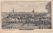 71665/49 - Gruß aus Obernberg um 1640 Bezirk Ried im Innkreis