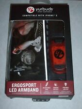 Yurbuds by JBL Ergosport Sport Reflect Armband mit LED Beleuchtung - Neu / OVP