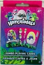 HATCHiMALS Jumbo Playing Cards for Ages 4+