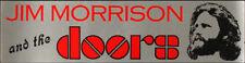 Jim Morrison The Doors __RARE__ VTG 1980 Bumper Sticker Rock lp Concert ORIGINAL