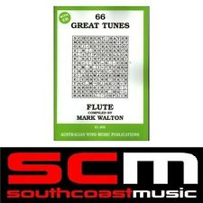 FLUTE 66 GREAT TUNES SONG BOOK + CD MARK WALTON BRAND NEW FLUTE