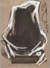 """Lord of the Rings Masterpieces - John McCrea """"Ringwraith"""" Level A Sketch Card"""