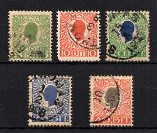 DWI  DEUTCH WEST INDIES  #31-35  USED  (1706147)