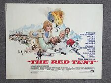 The Red Tent Original Half Sheet Movie Poster Sean Connery 1969 Art H. Terping