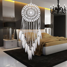 Retro Handmade Dream Catcher With Feathers Wall Hanging Decoration Home Ornament