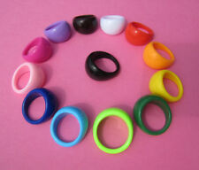 Unbranded Acrylic Band Costume Rings