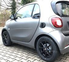 Ruote Invernali Nero Smart 453 MSW X4 16 Pollici Cerchi Lega Pneumatici Michelin