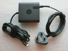 HP 65W AC Adapter Laptop Charger USB-C TPN-CA06 L30757-002 5V-3A to 20V-3.25A