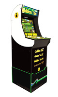 Arcade Cabinet Arcade1UP Retro Home Video Game Golf  Riser Light Up Marquee