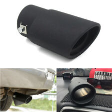 DIY 63MM Stainless Steel Car SUV Exhaust Pipe Tip Tail Muffler Cover Car Styling