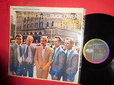 BUCK OWENS AND HIS BUCKAROOS Carnegie Hall Concert LP 1966 NEW ZEALAND EX