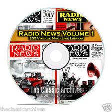 Amateur Radio TV Television News, Vol 1, 305 Vintage Magazine Collection DVD B82