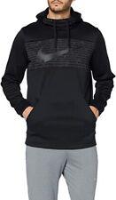Nike Therma Mens Fleece Pullover Hoodie Black Swoosh BV2764-010 3XL XXXL