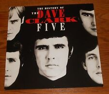 The Dave Clark Five Poster 2-Sided Flat Square 1993 Promo 12x12