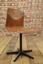 Vintage Pagholz Kinderstuhl Mid Century Design Schulstuhl 70er Thur op Seat # 15