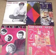 1958 Theatre Arts Magazine Lot of 5- Complete Play in Each- FREE S&H (C-6225-MF)