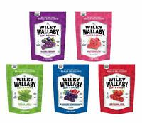 Wiley Wallaby Ultimate Fruit Variety Australian Licorice Snack Peak Gift Box 5 -