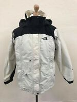 Vintage THE NORTH FACE Womens HYVENT Mountain Jacket | Hooded TNF | Medium White