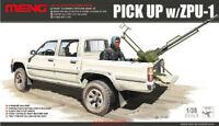 Meng VS-001 Model 1/35 scale Toyota Hilux Pick Up Truck c/w ZPU1 Anti-tank Gun
