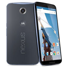Unlocked Google Nexus 6 XT1103 - 32GB - Blue Android 4G LTE 13MP Smartphone B