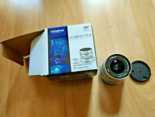 Olympus M.Zuiko EW-M1220 12mm F/2.0 ED Digital Lens Silver MICRO FOUR THIRDS 4/3