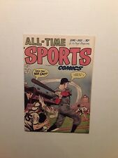 All-Time Sports #5, 1949 VF cond. Hillman Publication, Beautiful Book.