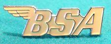 BSA Classic 1960's British Biker Motorbike Ton Up Boy TT Motorcycle Bike Badge Y