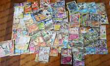 100 Pokemon Cards Bulk Lot - Guaranteed 1 EX or GX +21 rares/shiny FREE EXPRESS