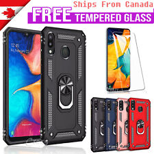 For Samsung Galaxy A51 A70 A50 A20 A10e A71 Shockproof Case Magnetic Ring Cover